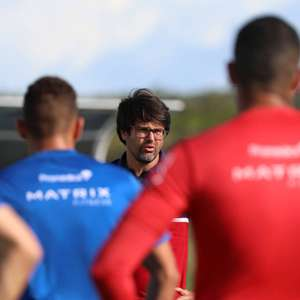 Bahia realiza treino tático e tem novo caso de covid-19