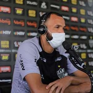 Everson diz que precisa melhorar, mas destaca que não teve nenhum erro grotesco no gol do Atlético-MG