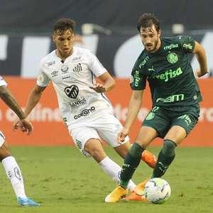 Palmeiras e Santos fazem terceira final brasileira na ...