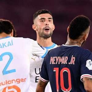 """Após provocação, atleta do Marseille chama Neymar de """"lixo"""""""
