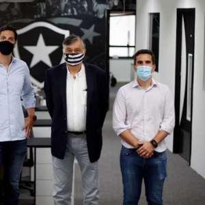 Diretoria do Botafogo se reúne com executivos da EXEC para ficar a par do processo de seleção do CEO