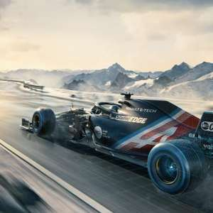 Alpine mostra pintura provisória do A521 de Alonso e Ocon