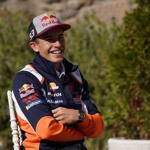 """Honda destaca """"evolução satisfatória"""" de Marc Márquez ..."""