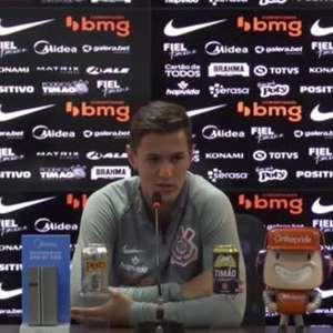 """CORINTHIANS: Mateus Vital destaca bom momento do Palmeiras mas mostra confiança para clássico: """"Vamos enfrentá-los para conquistar os três pontos"""""""