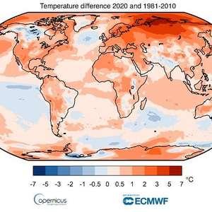 2020 iguala 2016 como ano mais quente já registrado no ...