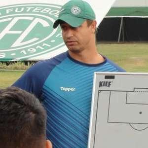 Felipe Conceição fala sobre 'orgulho' dos atletas do Guarani