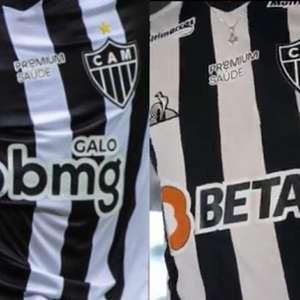 Atlético-MG e BMG se acertam sobre novo contrato e a posição que o banco ocupará na camisa alvinegra