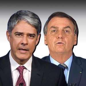 "A seu modo, Bonner devolve o ""canalha"" dito por Bolsonaro"