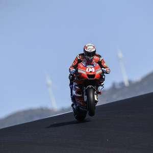 """Ducati diz que Dovizioso foi importante, mas """"histórias ..."""