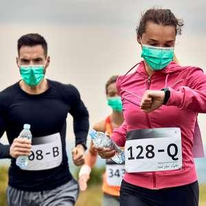 Usar de máscara não tem prejuízo na prática de exercícios