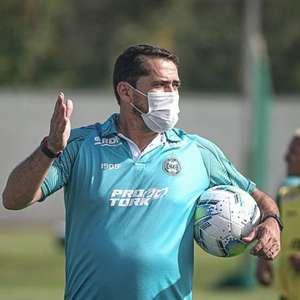 Na estreia de Gustavo Morínigo, Coritiba faz duelo contra a degola com o Vasco