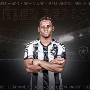 Fora dos planos, Éber Bessa deixará o Botafogo ao fim do Brasileiro-2020