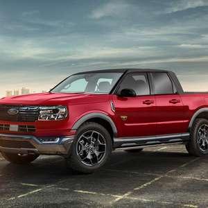 Ford Maverick, a anti-Toro, já tem visual quase definitivo