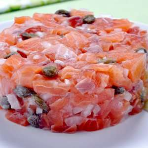 Tartar de salmão: opção de refeição sofisticada e leve