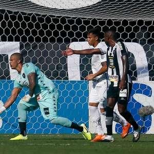 Diego Loureiro, do Botafogo, lamenta derrota contra o ...