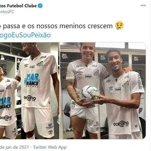 Santos brinca com estaturas de Soteldo e Bruno Marques ...