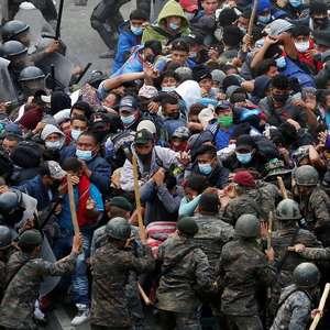 Imigração: imagens mostram violenta repressão na ...