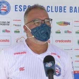 Médico do Bahia faz balanço da condição física de alguns nomes do elenco