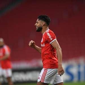 Inter vence o Fortaleza e fica a um ponto da liderança