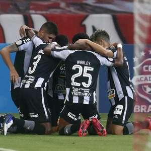 Ataque ineficaz: Botafogo marcou apenas um gol nas ...