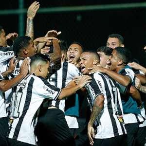 Atlético-MG vence duelo de ida na final do Brasileiro sub-20, contra o Athletico-PR, em Belo Horizonte