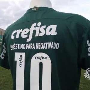 Uniforme do Palmeiras estampará propaganda especial no Dérbi
