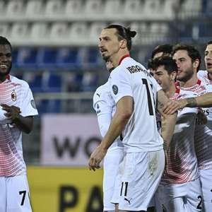 Milan vence o Cagliari e mantém a liderança do Italiano