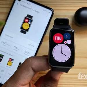 Smartwatch Huawei Watch Fit: elegância e muitos recursos ...