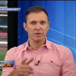 Depois de goleada no Dérbi, Velloso entrega chocolate para Neto e Edílson; confira o vídeo