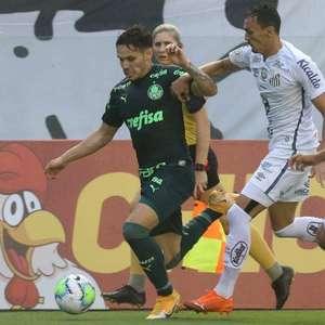Conmebol define uniformes de Palmeiras e Santos para a final da Libertadores