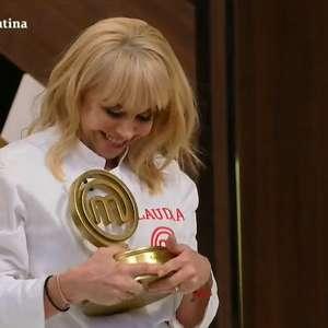 Ex-mulher de Maradona dedica a ele vitória no 'MasterChef'