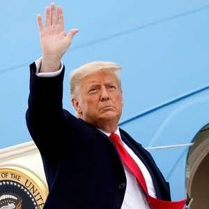 O adeus de Donald Trump: 'Fizemos o que viemos aqui para ...