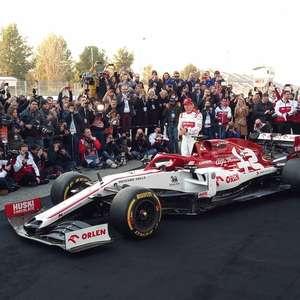 Alfa Romeo é primeira equipe da F1 a definir data e local de lançamento do carro de 2021