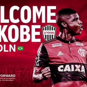Lincoln, do Flamengo, é anunciado pelo Vissel Kobe, do Japão