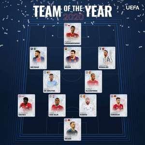 Uefa divulga time ideal de 2020 com Neymar presente ...