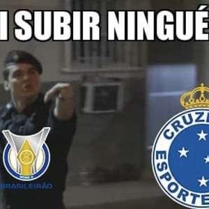 Cruzeiro fica na Série B e web não perdoa nos memes