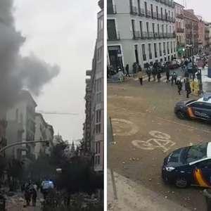 Forte explosão no centro de Madri assusta moradores