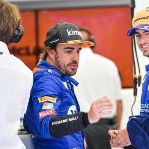 """Sainz diz tentar criar própria trajetória na F1 """"pois ..."""