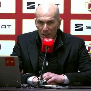 Após eliminação para equipe da terceira divisão, Zidane ...