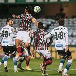 Em jogo de seis gols, Fluminense arranca empate com o ...