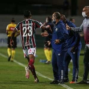 Fluminense tem noite de falhas na defesa, pouca ...