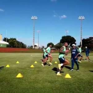 Veja como foi o último treino do Flamengo em Brasília ...