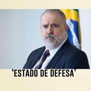 Em meio à pressão por impeachment de Bolsonaro, Aras insinua 'estado de defesa'