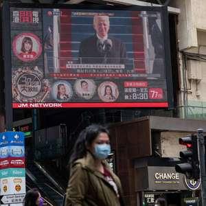 China parabeniza Biden por posse e deseja 'maior ...
