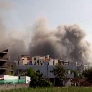 Incêndio atinge instituto que produz vacinas na Índia