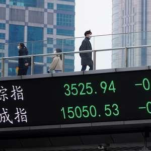 Índices da China fecham sem direção comum com pausa em ...
