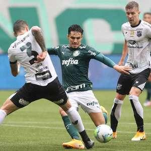 Ceará tenta quebrar tabu contra o Palmeiras
