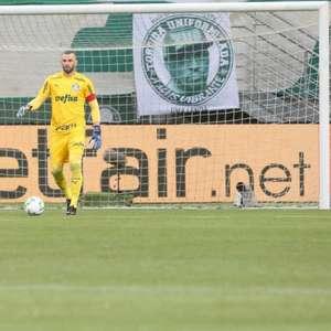 Weverton lamenta chances perdidas pelo Palmeiras e ...