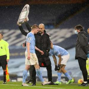 Guardiola diz que lesão de De Bruyne é mais grave que o ...