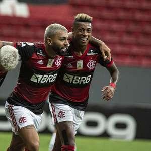 Flamengo vence o Palmeiras, sobe na tabela e embola ...